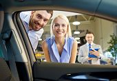 stock photo of car-window  - auto business - JPG