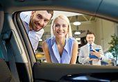 stock photo of car-window  - auto business - JPG
