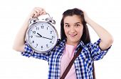 foto of time study  - Student failing to meet deadlines for her studies - JPG