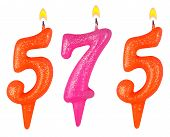 pic of 5s  - candles number five hundred seventy - JPG