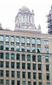 pic of illinois  - A Stone Office Tower in Chicago Illinois - JPG