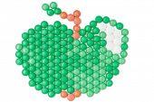 pic of paracetamol  - Apple of green vitamins - JPG