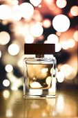 picture of perfume  - a nice bottle of perfume with a beautiful background - JPG