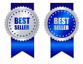 Постер, плакат: Best Seller Award Ribbon