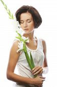 picture of gladiolus  - Close - JPG