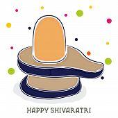 stock photo of shiva  - illustration of Shiva Ling for Maha Shivaratri - JPG