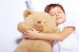stock photo of boys night out  - Sleeping angel - JPG