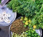 picture of yangon  - Various vegetables at vegetable market in Yangon Myanmar - JPG
