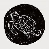 pic of tortoise  - Tortoise Doodle - JPG