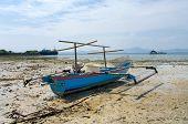 Fishermans Boat In Bandar Lampung, Sumatra, Indonesia poster