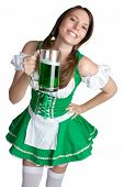 St Patricks Day Beer Girl