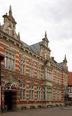Historic Building In Hamelin, Germany poster