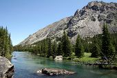 foto of beartooth  - west fork of the rock creek on the trail to quinnebaugh meadows - JPG