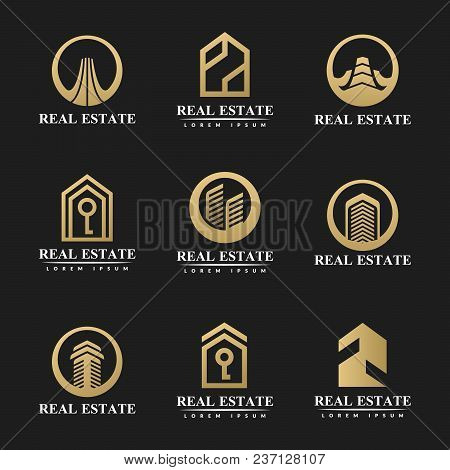 Real Estate Icon Set Real
