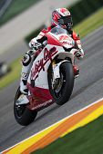 VALENCIA, SPAIN - NOVEMBER 7: Fonsi Nieto in motogp Grand Prix of the Comunitat Valenciana, Ricardo