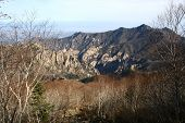 image of seoraksan  - A photo of the seoraksan mountain range in south Korea - JPG