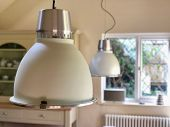 Contemporary interior hanging dining room lights poster