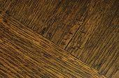Oak Grain Veneer Texture Background, Dark Black Brown Natural Horizontal Scratched Textured Diagonal poster