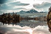Holiday Cottages In The Norwegian Mountains By The Lake, Gaustatoppen, Scandinavia, Hytte poster
