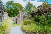 Ruins Of A Medieval Monastery On The Island Of Oslo, Norway, Scandinavia poster