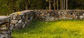 Ruins Near Lake Noklevann In Oslo, Norway, Scandinavia poster