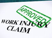 pic of reimbursement  - Work Injury Claim Approved Showing Medical Expenses repaid - JPG