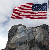 foto of mount rushmore national memorial  - Mount Rushmore - JPG