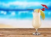 stock photo of pina-colada  - Pina colada drink - JPG