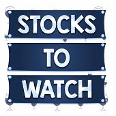 Text Sign Showing Stocks To Watch. Conceptual Photo Being Heavy Broker And Watch Every Increase Decr poster