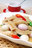 stock photo of tripe  - food in china - JPG