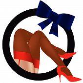 Постер, плакат: Эротика женских ног