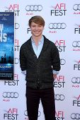 LOS ANGELES - NOV 9:  Calum Worthy at the AFI FEST