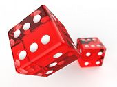 stock photo of crap  - game dice - JPG