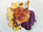 foto of roast duck  - Roast duck - JPG