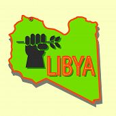 stock photo of libya  - The Stop military a operations in Libya - JPG