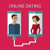 picture of flirt  - Internet dating - JPG