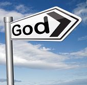 foto of salvation  - God and salvation search road to heaven religion god belief and praise the lord  - JPG