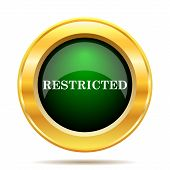 pic of restriction  - Restricted icon - JPG