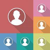 pic of avatar  - User avatar icon sign symbol - JPG