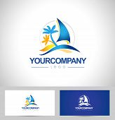 picture of yacht  - Boat Logo - JPG