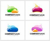 picture of clouds  - Cloud Logo Design - JPG