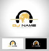 foto of logo  - Dj Logo Design - JPG