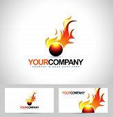 foto of flames  - Fire Flame Logo - JPG