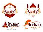 image of indian  - Indian Food Logo - JPG