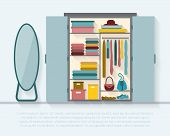 picture of wardrobe  - Wardrobe for cloths - JPG