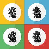 foto of heart  - Heart icon  - JPG