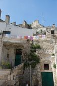 picture of sassy  - Matera in Italy with its caratheristics Sassi troglodyte houses - JPG
