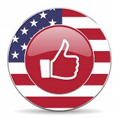 pic of day judgement  - like american icon original modern design for web and mobile app on white background  - JPG