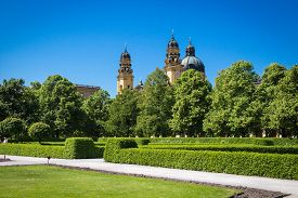 pic of munich residence  - Historic Pavillon in Munich Hofgarten - JPG