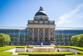 image of munich residence  - Historic Pavillon in Munich Hofgarten - JPG